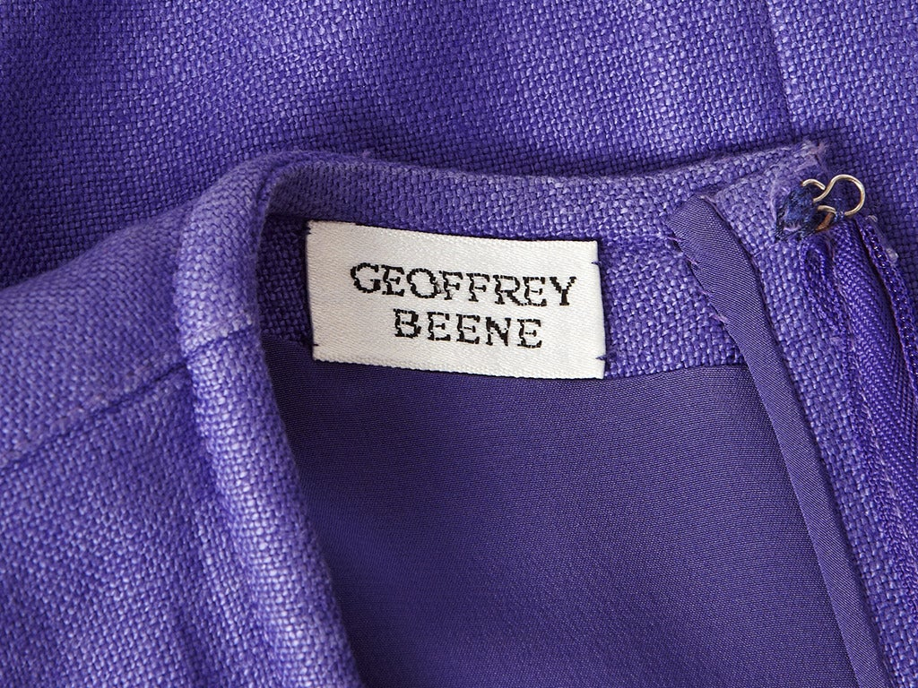 Geoffrey Beene Linen Day Dress 4