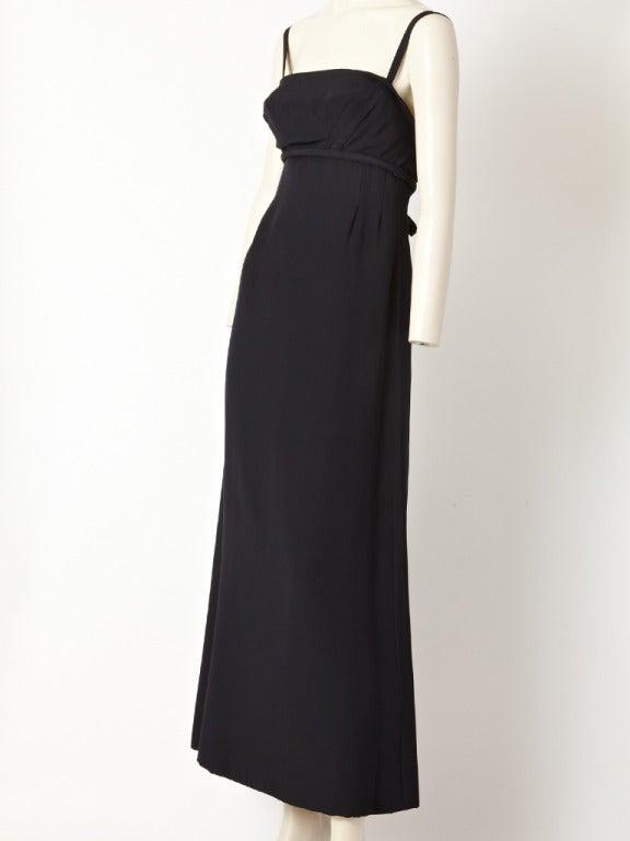 Pauline Trigere Empire Waist Gown 2