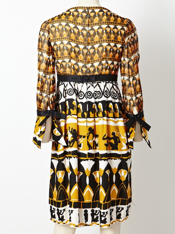 Burke-Amey African Inspired Print Dress 3