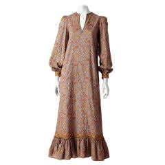 Giorgio di  Sant'Angelo Embroidered Bohemian Dress