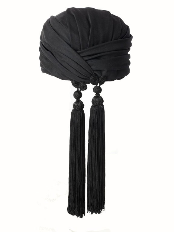 Dior Turban With Tassels 2