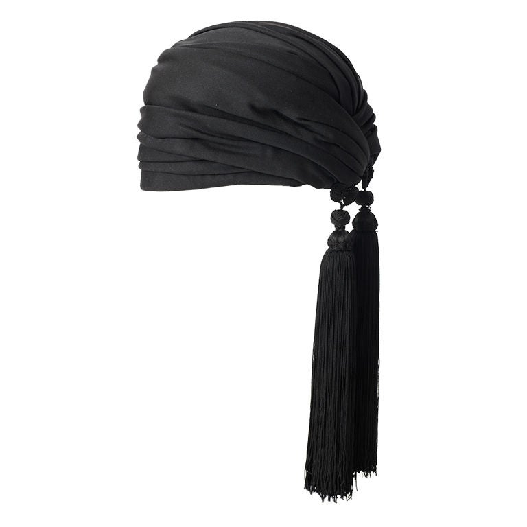 Dior Turban With Tassels 1