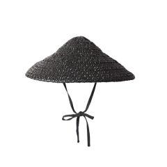 "Valentina Raffia ""Coolie"" Hat"