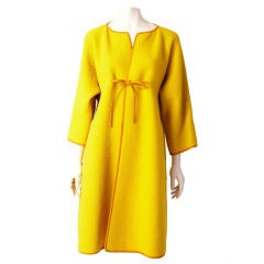 Bonnie Cashin Wool Boucle Coat