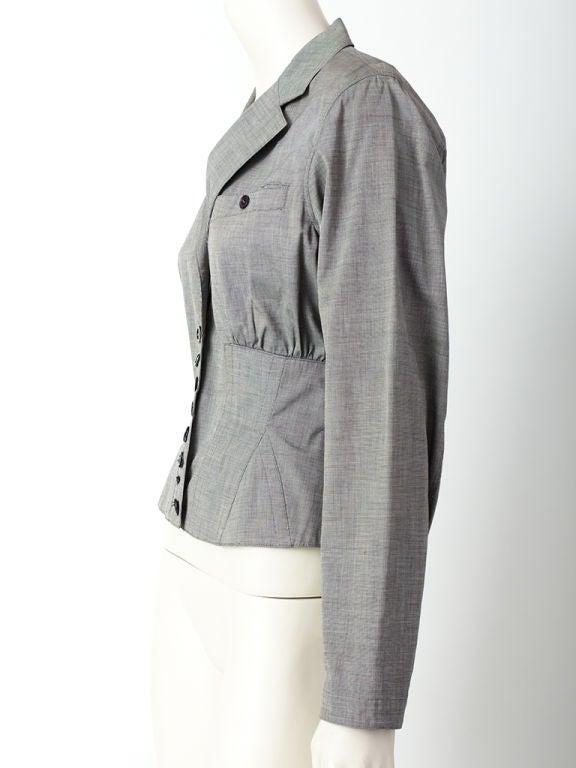 Azzedine Alaia Corset jacket 2