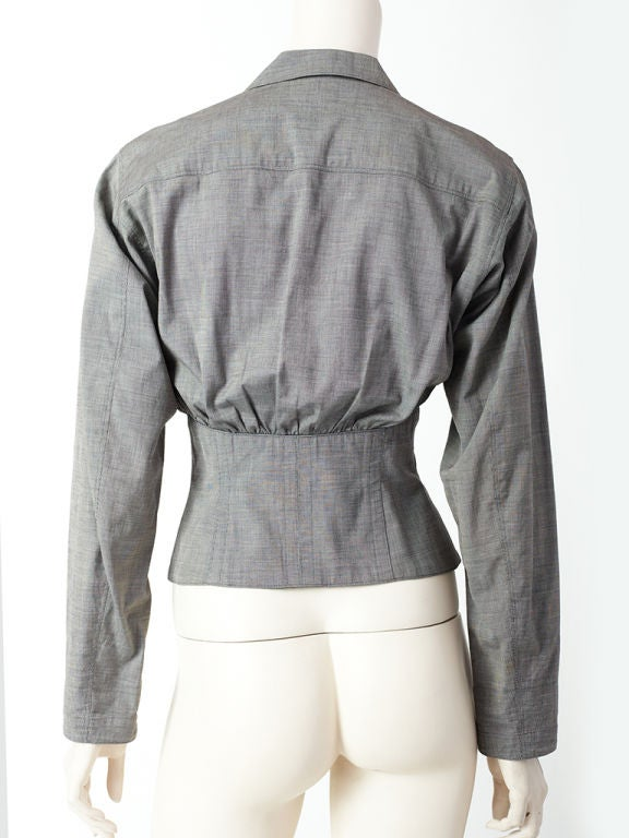 Azzedine Alaia Corset jacket 3