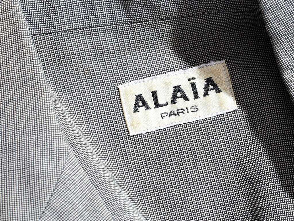 Azzedine Alaia Corset jacket 4