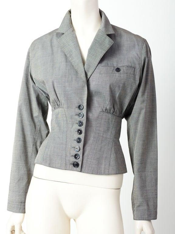 Azzedine Alaia Corset jacket 5