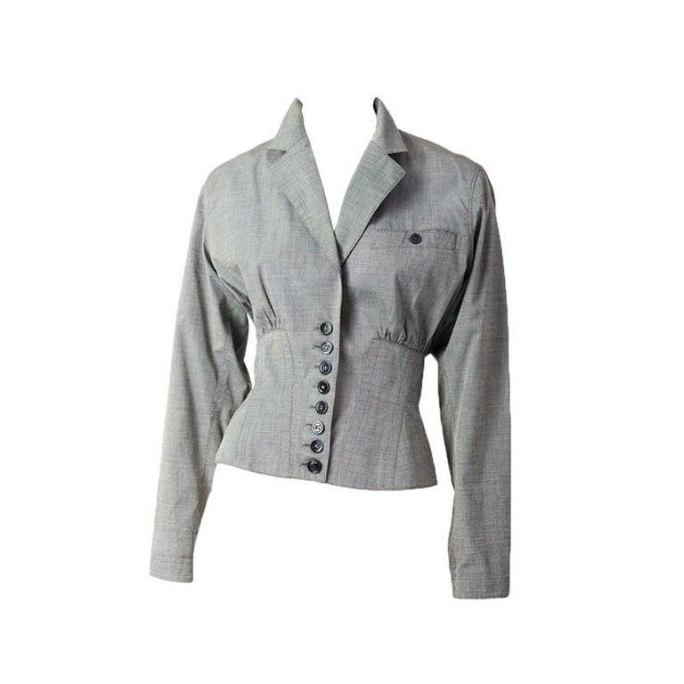 Azzedine Alaia Corset jacket 1
