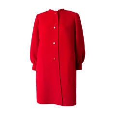 Andre Laug  Double Face Wool Coat