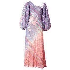 Judy Hornby One Shoulder Dress