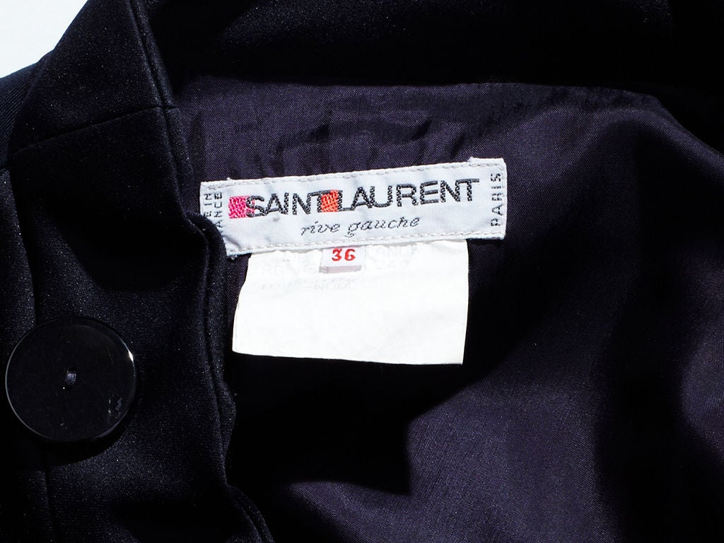 Women's YSL Tuxedo Dress For Sale