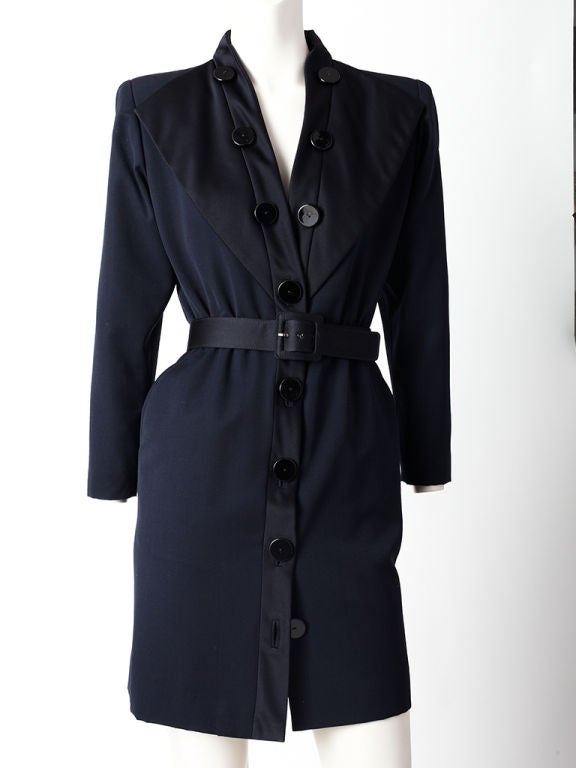 YSL Tuxedo Dress For Sale 1