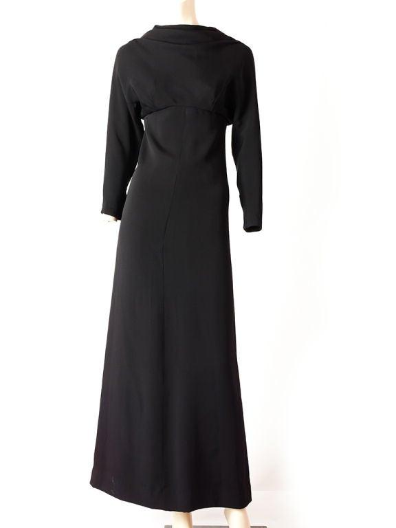 Pierre Cardin Evening dress at 1stdibs