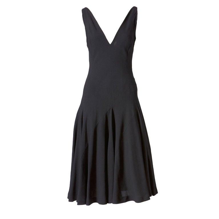 Ochre bias cut maxi dress