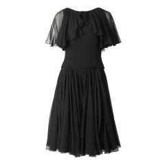 Traina Norell Chiffon Dress