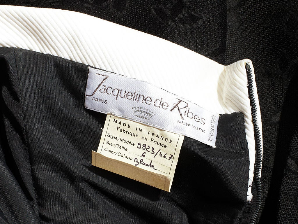 Jacqueline De Ribes Quotes: Jacqueline De Ribes Strapless Cocktail Dress At 1stdibs