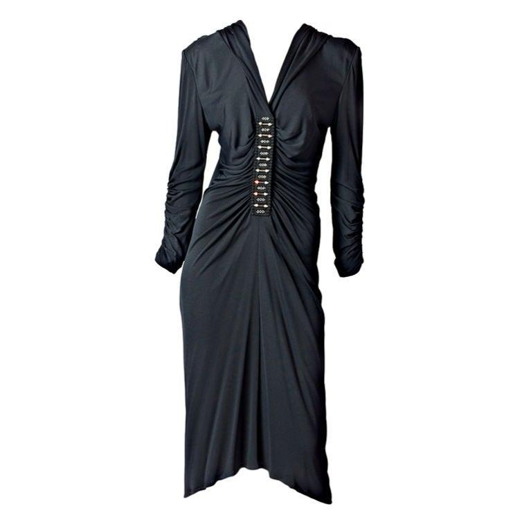 Zandra Rhodes Hooded Dress