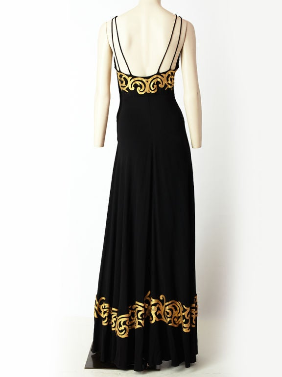 1940's Evening Gown For Sale 1
