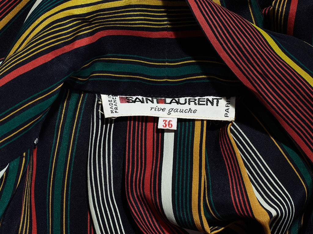 Yves St. laurent Stripe Day Dress 5