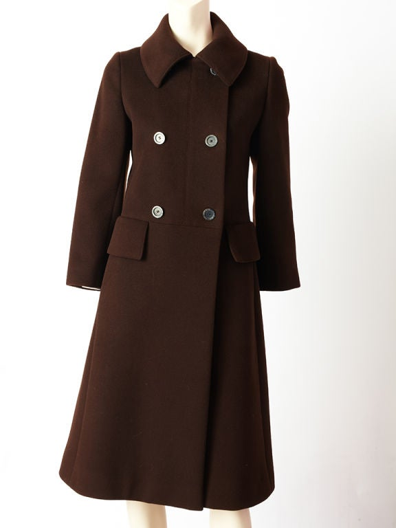 Hermes Double Breasted Coat 2