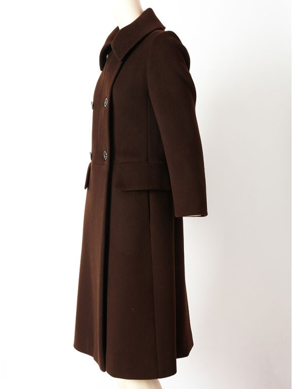 Hermes Double Breasted Coat 3