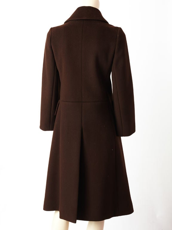 Hermes Double Breasted Coat 4
