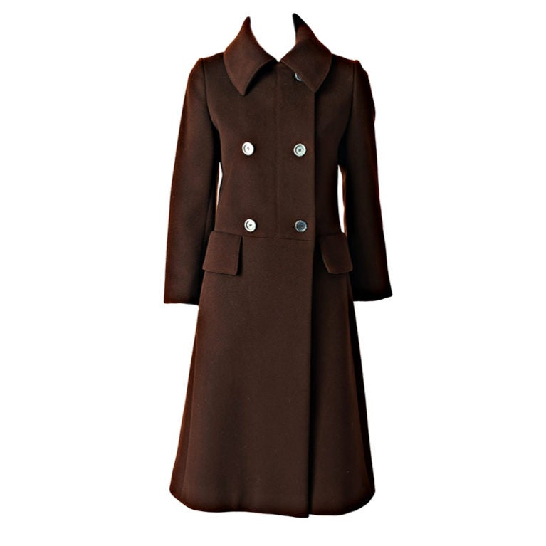 Hermes Double Breasted Coat 1