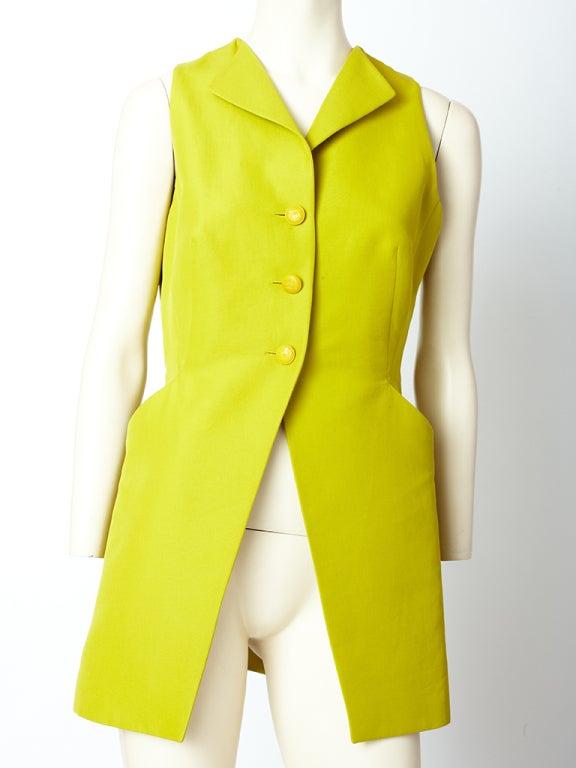 Hermes Chartreuse Sleeves Jacket 2