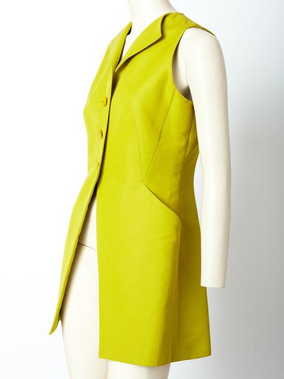 Hermes Chartreuse Sleeves Jacket 3
