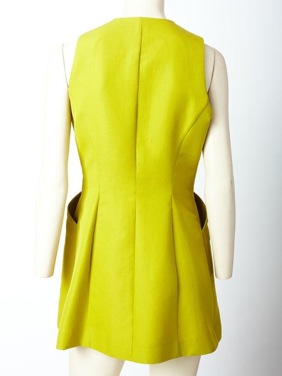 Hermes Chartreuse Sleeves Jacket 4