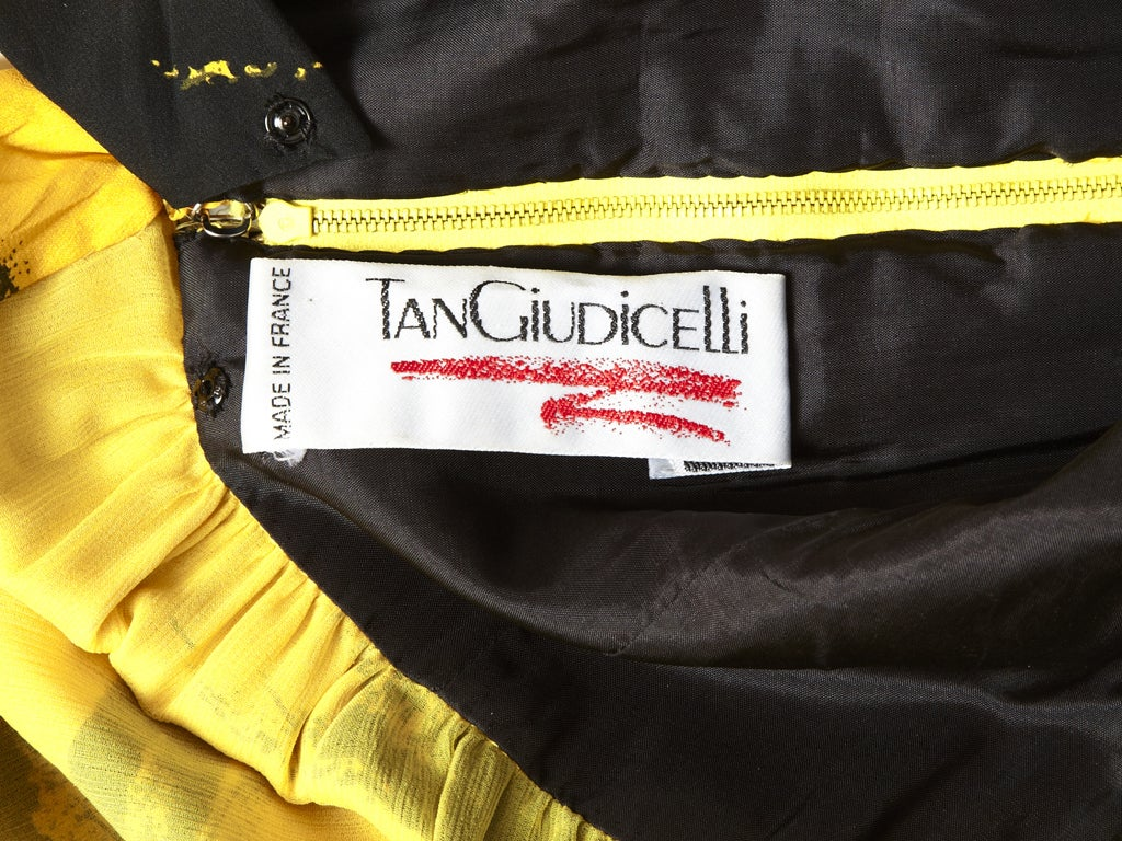 Tan Guidicelli Graphic Print Dress 2