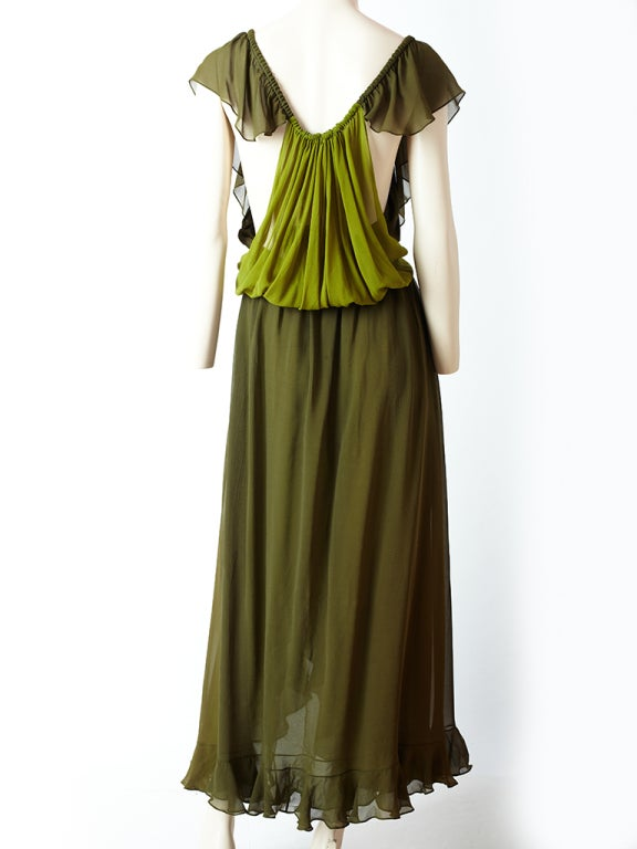 YSl Chiffon Maxi Dress image 4