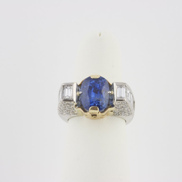 unique sapphire and ring at 1stdibs