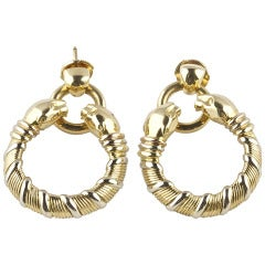Cartier Panthere Earrings