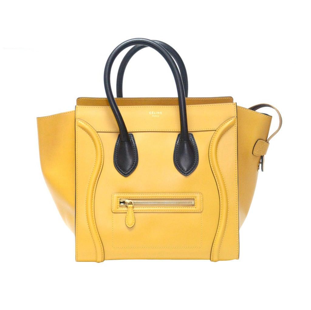 Hermes Celine Mini Luggage 1