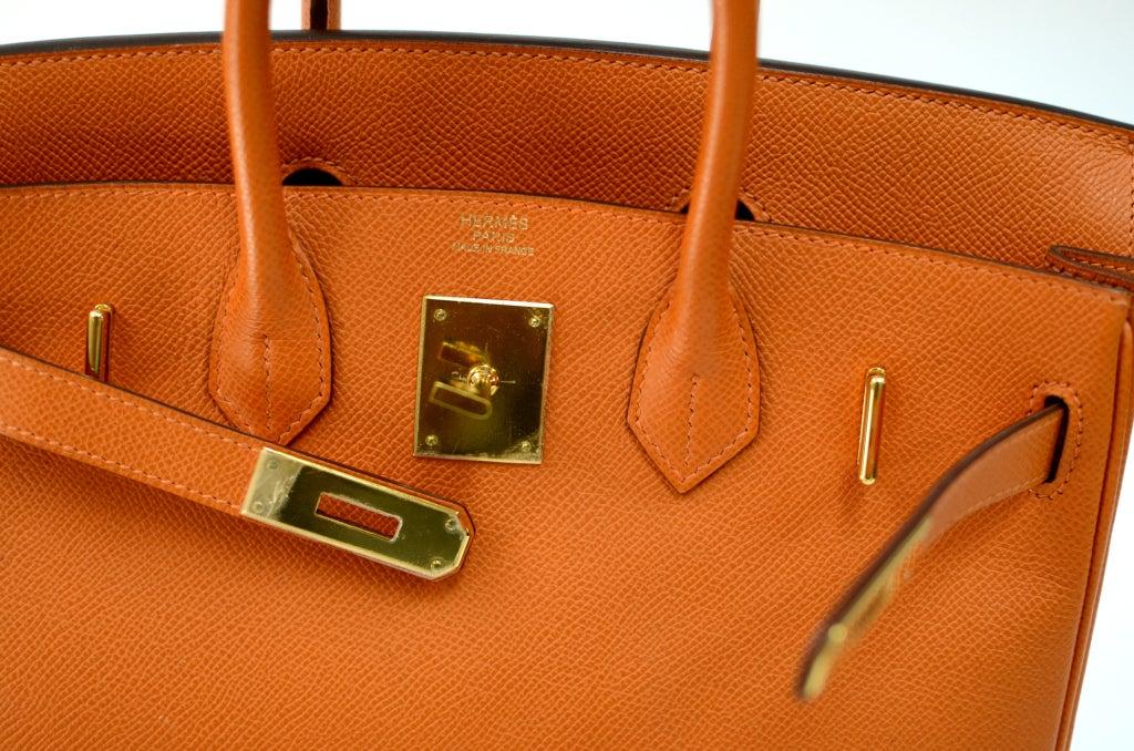 birkin alligator bag price - Hermes Birkin HAC Orange with Gold Hardware 28cm at 1stdibs