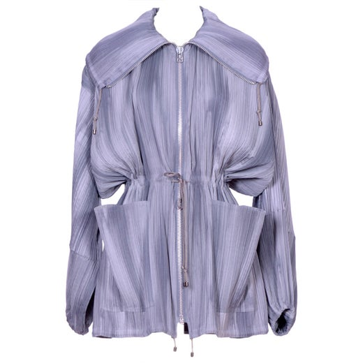 FREE SHIPPING to Canada and U.S.A Vintage 80s Issey Miyake  Jacket Retro 1980/'s  Designer Ladies Double Breasted Issey Miyake Jacket