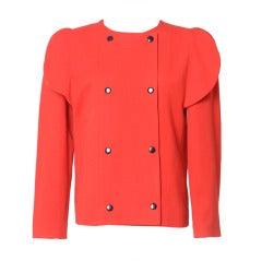 PIERRE CARDIN red jacket