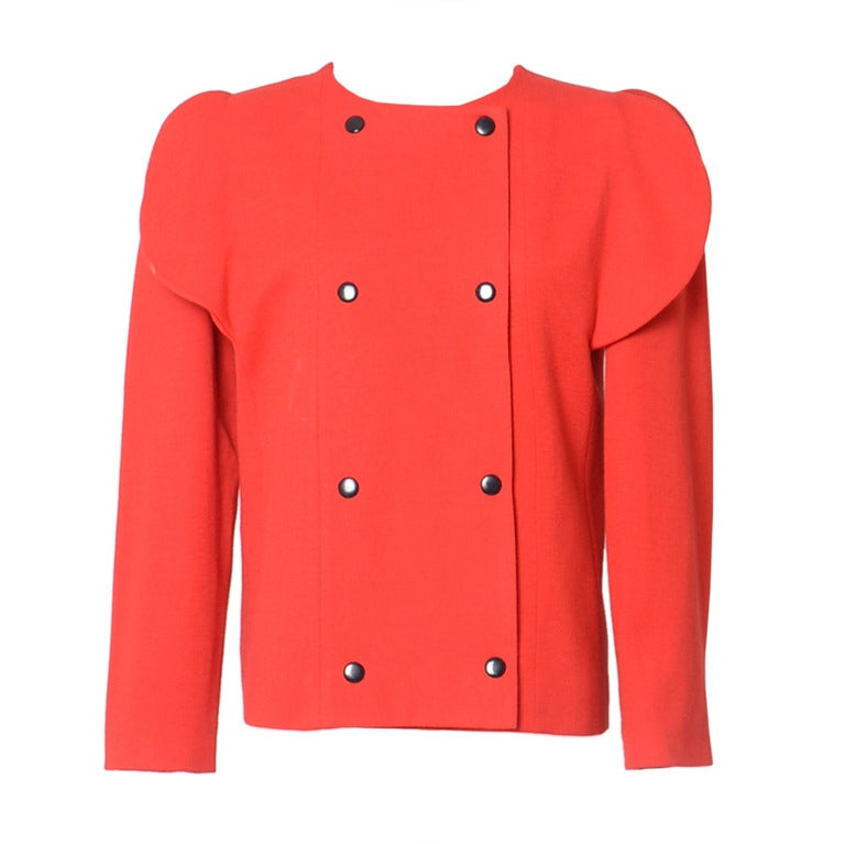PIERRE CARDIN red jacket For Sale