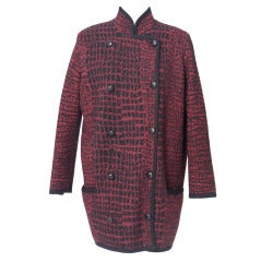 Wool Jersey Jacket By YVES SAINT LAURENT