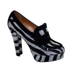 Viktor & Rolf  Zebra Tuxedo Black/White  Sequince Shoes