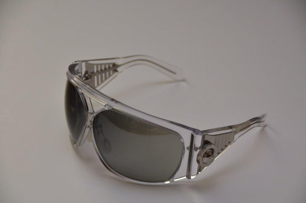 Balenciaga  Futuristic Sunglasses  Rare brand new with box.From  2007 collection made by Safilo. Made in small quantities and imposible to find and every piece was numbered.Featured in every fashion magazine . Pre-owned like new condition. Final