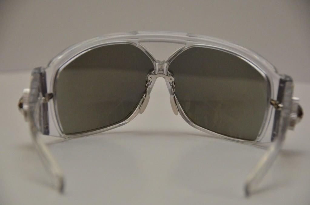 Balenciaga Futuristic Sunglasses By Safilo, 2007 Collection  For Sale 1