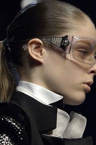 Women's Balenciaga Futuristic Sunglasses By Safilo, 2007 Collection  For Sale