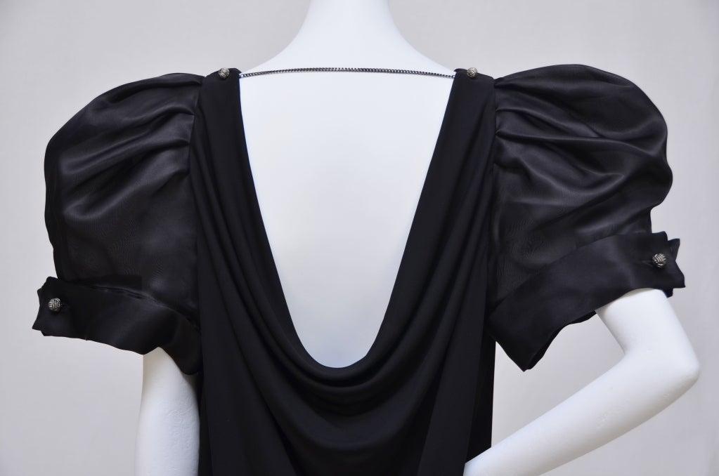 Women's Viktor & Rolf Dress Big  Puff  Sleeve New For Sale
