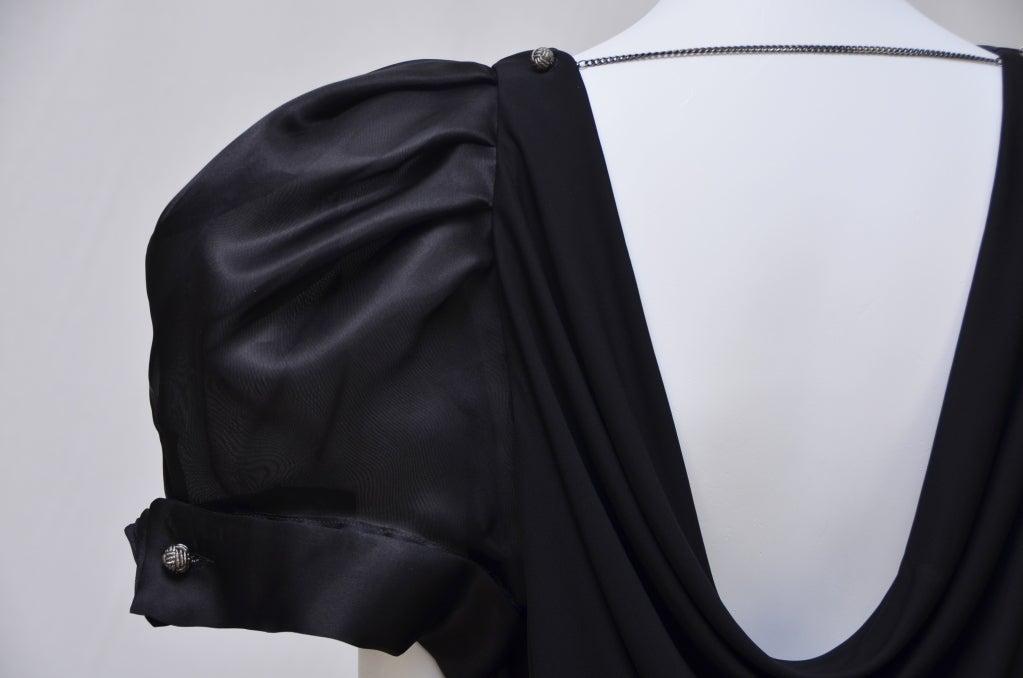 viktor and rolf dress big puff sleeve new for sale at 1stdibs. Black Bedroom Furniture Sets. Home Design Ideas