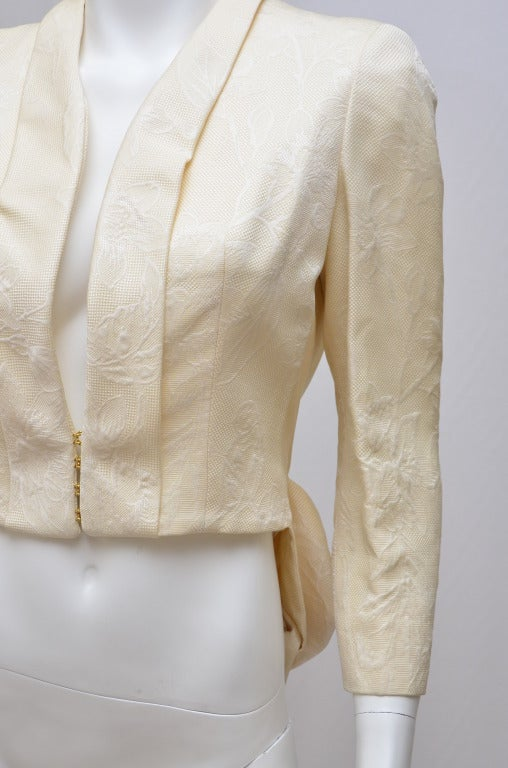 Alexander McQueen Jacket Tailcoat  Runway  '07 In Excellent Condition For Sale In Hollywood, FL