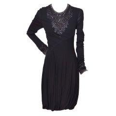 Alexander McQueen Swarovski  Embellished  Dress New