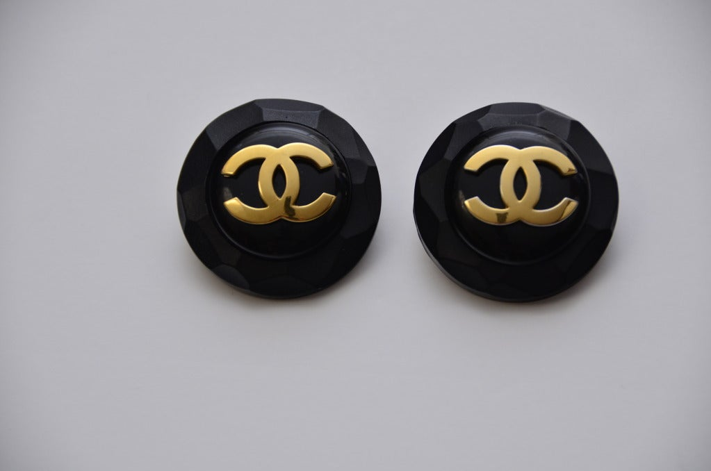 Chanel Clip On  Large Earrings 2